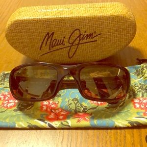 Maui Jim sunglasses.